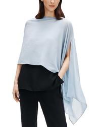 Eileen Fisher Sheer Silk Tte Poncho