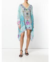 Camilla Embellished Garden Print Dress