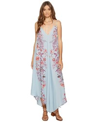 Free People Ashbury Printed Slip Dress Dress