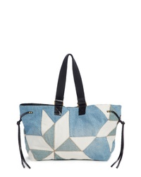 Isabel Marant New Wardy Denim Shopper