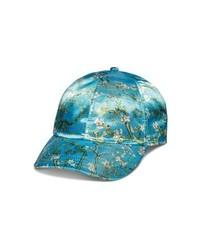 Vans X Van Gogh Museum Almond Blossom Satin Baseball Cap
