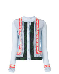Carven Frayed Detail Cardigan