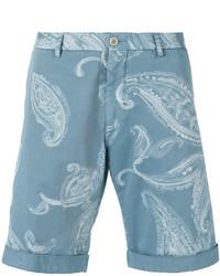 Etro Paisley Print Chino Shorts