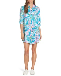 Lilly Pulitzer Natalie Shirtdress Cover Up
