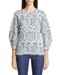 Chloé Textured Jacquard Sweater