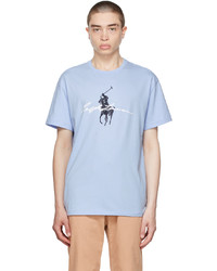 Polo Ralph Lauren Blue Big Pony Logo T Shirt