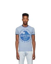 DSQUARED2 Blue Dan Fit T Shirt
