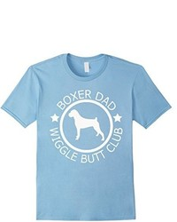 Boxer Dad Wiggle Butt Club T Shirt