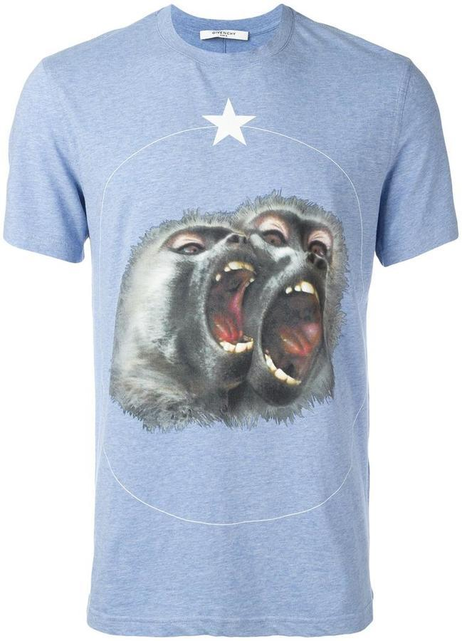 6783eb35 Givenchy Monkey Brothers Printed T Shirt, $426 | farfetch.com ...