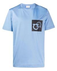 Salvatore Ferragamo Logo Short Sleeve T Shirt