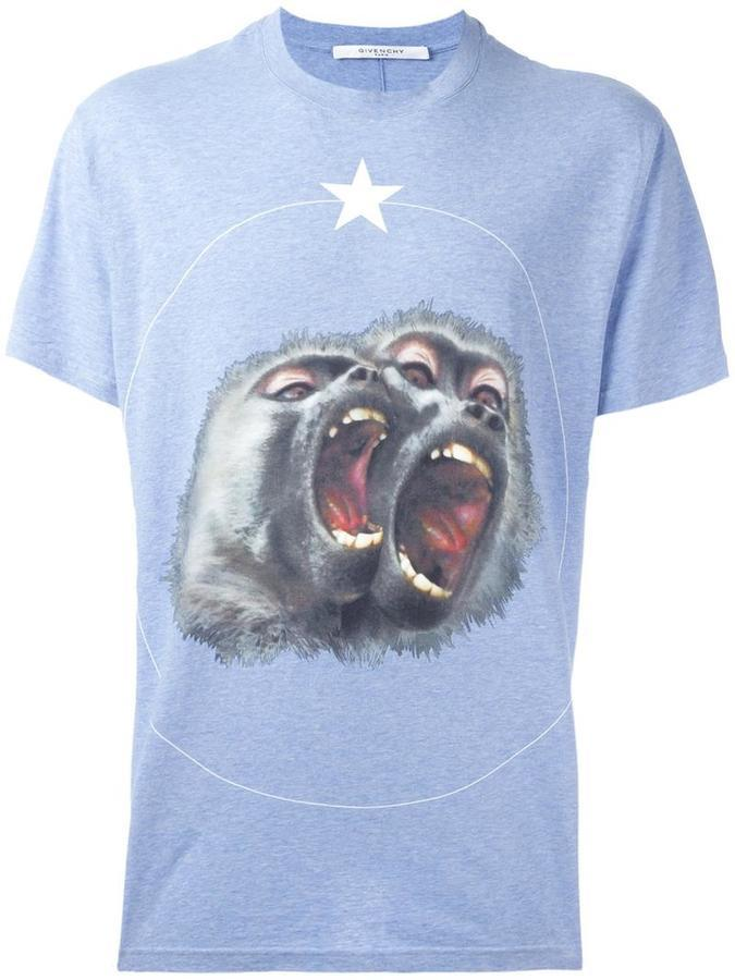 Givenchy Monkey Brothers Printed T Shirt | Where to buy & how to wear