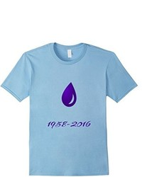 Purple drops of rain t shirt will look well on a prince medium 806011