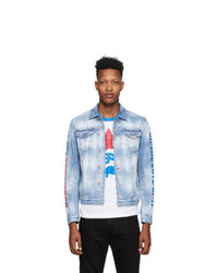 DSQUARED2 Blue Pepsi Edition Denim Jacket