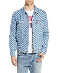 Levi's Checker Trucker Jacket