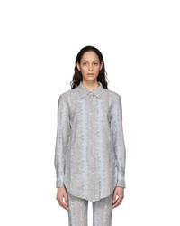 Acne Studios Blue Esophi Shirt