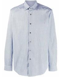 Salvatore Ferragamo Classic Button Up Shirt