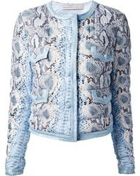 Ermanno Scervino Snake Printed Jacket