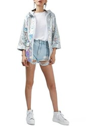Holographic rain jacket medium 761140