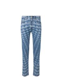 Kappa All Over Logo Slim Jeans