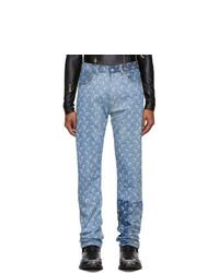Marine Serre Blue Moon Jeans
