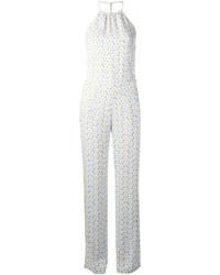 Love Moschino Daisy Print Jumpsuit
