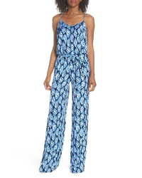 Lilly Pulitzer Lilly Pulizter Dusk Sleeveless Jumpsuit