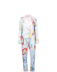 Mira Mikati Printed Tailored Jumpsuit