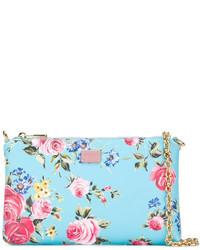Floral print chain clutch bag medium 3667661