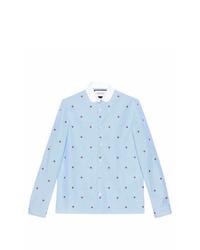 bbb1483be0be Men's Print Shirts by Gucci | Men's Fashion | Lookastic.com