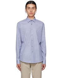 Salvatore Ferragamo Blue Shirt