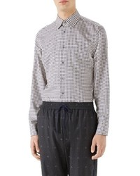 cde3b62d9 Men's Print Shirts by Gucci | Men's Fashion | Lookastic.com
