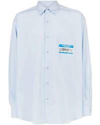 Vetements Hello My Name Is Shirt