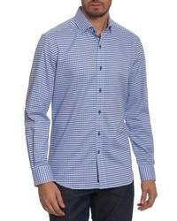 Robert Graham Landen Tailored Fit Print Sport Shirt