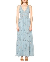 Willow & Clay Floral Print Maxi Dress