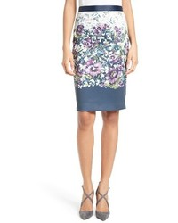 Ted Baker London Carpi Floral Print Pencil Skirt