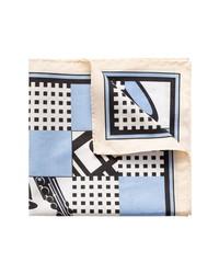 Eton Jazz Cotton Pocket Square