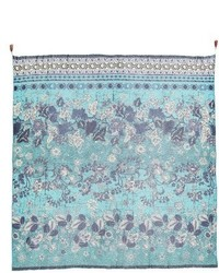 Fuzzi Beaded Batik Print Scarf