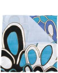 Diane von Furstenberg Floral Print Scarf