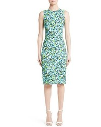Michael Kors Michl Kors Floral Print Sheath Dress