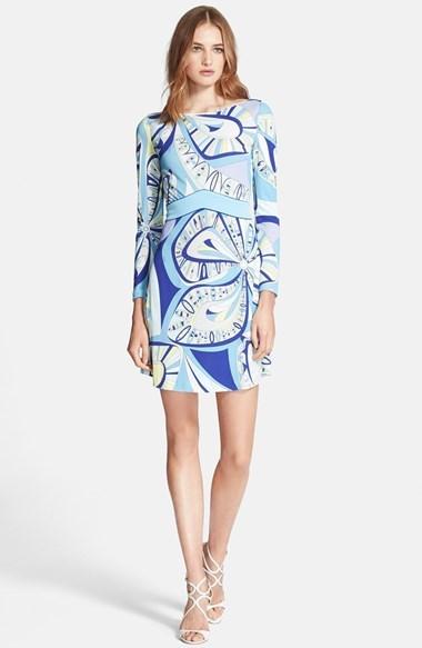 ... Emilio Pucci Flower Power Print Dress ...