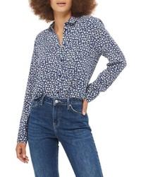 Topshop Ditsy Daisy Print Shirt