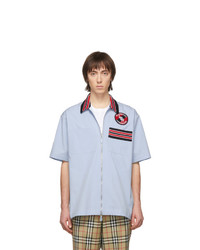 Burberry Blue Hagan Casual Shirt