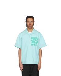 Kenzo Blue Paris Kanji Shirt