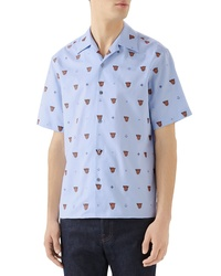 Gucci Classic Bowling Slim Fit Shirt