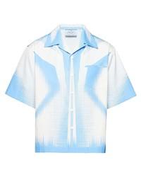 Prada Digital Shape Print Shirt