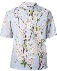 Dolce & Gabbana Cherry Blossom Print Shirt