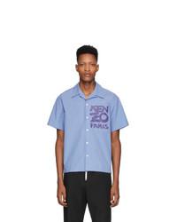 Kenzo Purple Paris Shirt