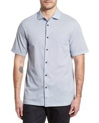 Bugatchi Regular Fit Microprint Sport Shirt