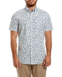 Ben Sherman Scattered Scratch Short Sleeve Sport Shirt