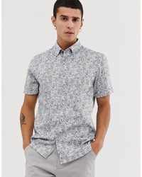 Ted Baker Shirt With Botanical Print